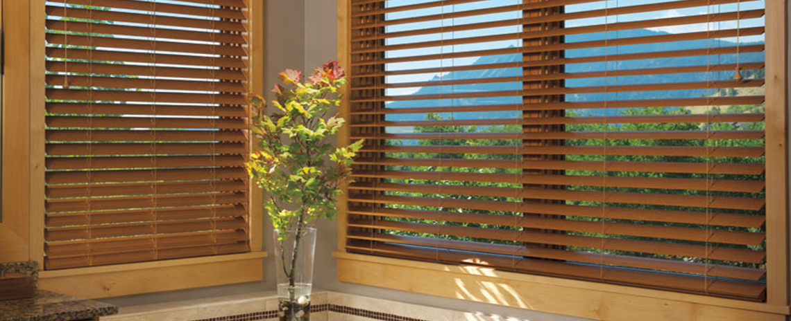 Naples Bay Wood Blinds
